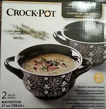 Crock Pot Ceramic Soup Bowl