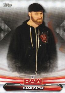 2019-Topps-Wwe-Raw-Lutte-Cartes-a-Collectionner-63-Sami-Zayn