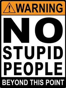 2  WARNING I about to do STUPID   DECALS  FREE SHIPPING