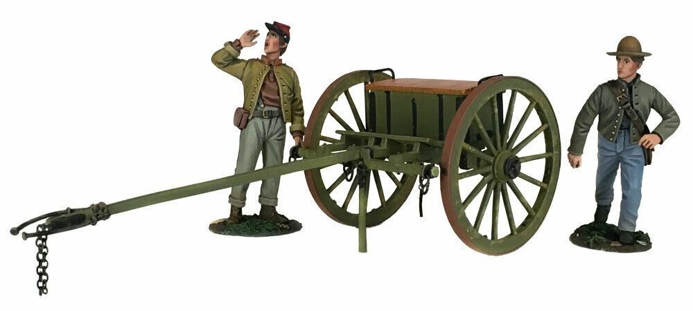 BRITAINS SOLDIER 31293 - Confederate Light Artillery Limber With Two Man Crew