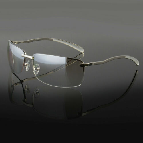 New Men Classic Sunglasses Metal Driving Glasses Pilot Outdoor Sports Uv400
