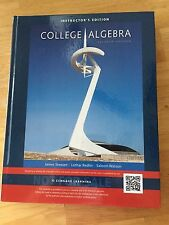 NEW College Algebra L. Redlin, J. Stewart (2015) Instructor's Edition w/ Answers