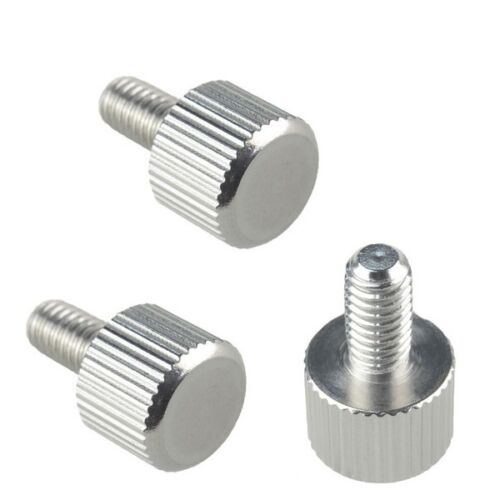 5//10//20//50//100 PCS NEW  M4 x 8mm Toolless Thumb Screw Stainless Steel