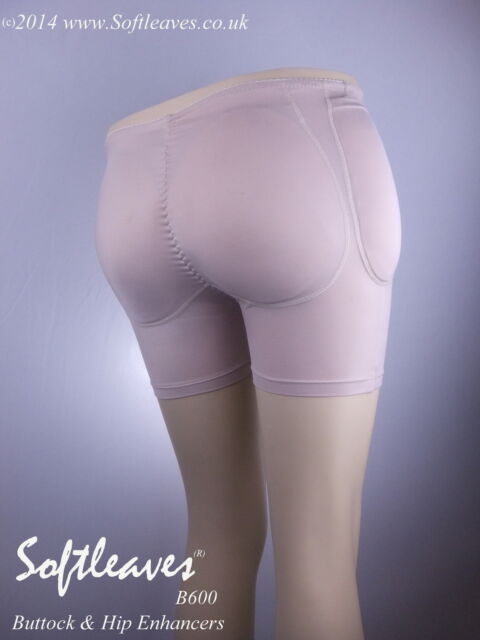 Softleaves B600 Buttocks and Hip Enhancers Padded Panties for Butt Enlargement