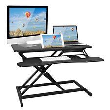 Standing Desk Converter Sit To Stand Workstation Adjustable Computer Desk Riser