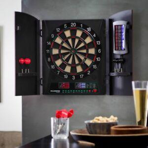 Bullshooter by Arachnid Cricketmaxx 1.0 Electronic Dart Board Complete Set,