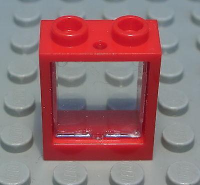 264 # Lego Fenster 1x2x2 Beige mit Transparenter Scheibe