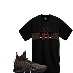 WeWillFit shirt match Nike Lebron James XV 15 LMTD BHM Black History ... 1c5ef7782