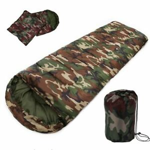 Camouflage-Sleeping-Bag-Military-System-Us-Modular-Sleep-Cold-Woodland-Cover