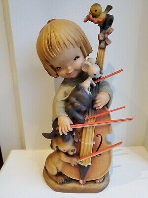 ITALY ANRI FERRANDIZ Boy Playing Musical Instrument
