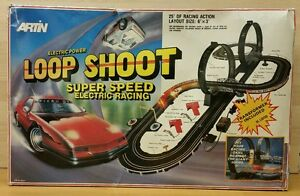 Image is loading Vintage-Artin-Slot-Car-Loop-Shoot-Electric-Racing-