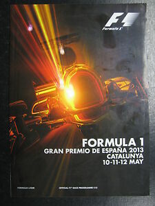 Program-2013-Formula-1-Gran-Premio-de-Espana-10-12-May-Catalunya-PBE