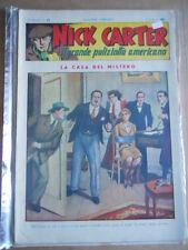 Nick Carter Il Grande poliziotto americano Anni 40 n°92 ed. NERBINI  [G369]