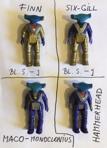 Dino Riders RULONS  Action Figures TYCO 1987//88
