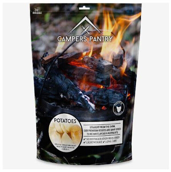 New Campers Pantry Freeze Dried Potato Camping Kitchen Food Survival Meal Foods