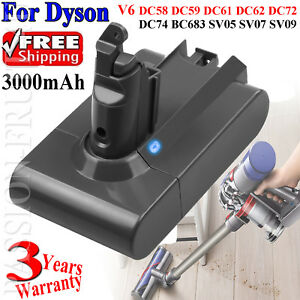 3-0Ah-FOR-DYSON-V6-ANIMAL-BATTERY-DC58-DC59-DC61-DC62-DC72-DC74-V6-Absolute-PASS