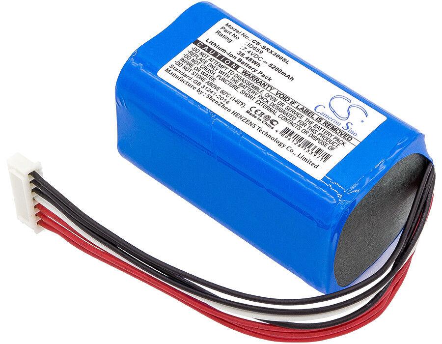 7.4V Battery for Sony SRS-XB3 Premium Cell 5200mAh Li-ion New UK