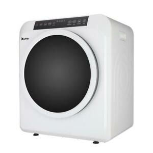 ZOKOP Portable Electric Dryer 3.2Cu.Ft 13lbs LCD Display Drying Machine White