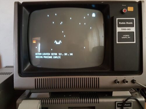 NEW games for TRS-80 2019 Actual Reality Two Battlestar Raven now added to pack