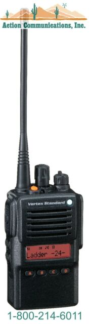 NEW VERTEX/STANDARD VX-824, UHF 450-512 MHZ, 5 WATT, 512 CHANNELTWO WAY RADIO