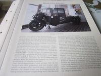 Bremen Archiv 3 Handel 3044 Fischwerbung 3 Rad Lastwagen 1931 J S Rasmussen