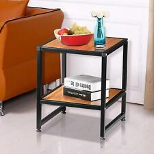Accent Square End Table Side Sofa Nightstand Living Room Furniture Storage Shelf