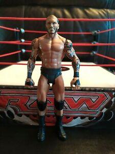 Randy-Orton-Basic-Series-WWE-Mattel-Wrestling-Figure-RKO-CHAMPION-KID-TOY