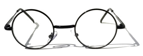 KIDS Scientist Wizard Nerd Fake Round Costume Clear Lens Eye Glasses Ages 3-12