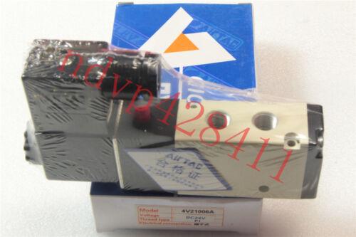 1PCS Airtac Solenoid Valve 4V210-06 24VDC NEW