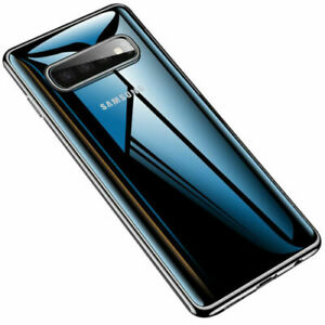Samsung-Galaxy-S10-S10-Plus-Transparent-Case-Shock-Absorption-TPU-Soft-Cover