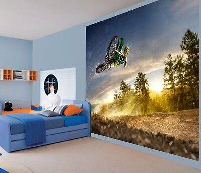 Bmx Rider doing backflip Wallpaper wall mural wall art 12886021 Extreme sports