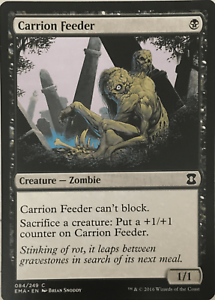 carrion feeder eternal masters Magic the gathering MTG common