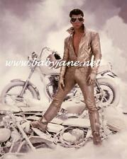 008 MAXWELL CAULFIELD GOLD MOTORCYCLE SUIT GREASE II  PHOTO