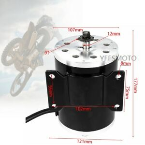 Details about 1800W 48V Brushless Drive Motor fit Electric Go kart Buggy  ATV E-Bike Scooter US