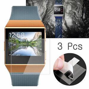 3-Anti-rayure-Trempe-Verre-Ecran-Protection-Film-pour-Fitbit-Ionique-Montre