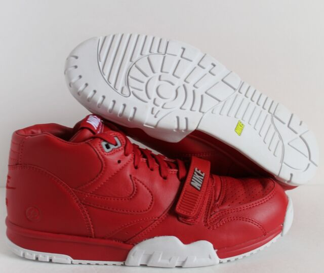 f72a334d5be Nike Air Trainer 1 Mid SP Fragment Gym Red Sz 9.5 100 Auth. Retro ...