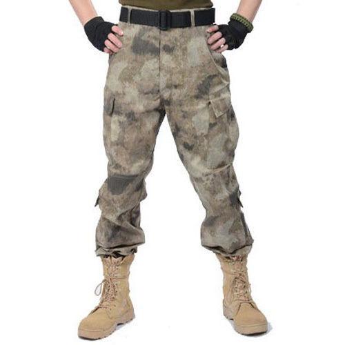 Homme Militaire Tactique Pantalon Armée Combat Cargo Outdoor Pantalon Camouflage Randonnée