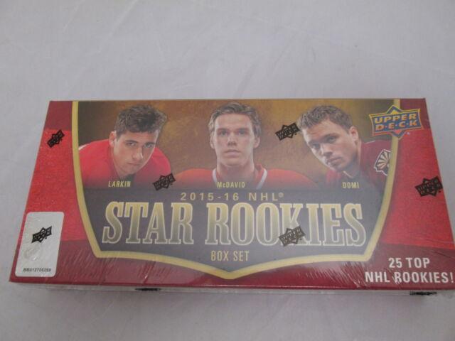 2015-16 UPPER DECK STAR ROOKIES SEALED BOX