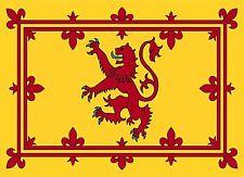Scottish Royal Standard Flag Car Caravan Exterior Vinyl Sticker Scotland Flag