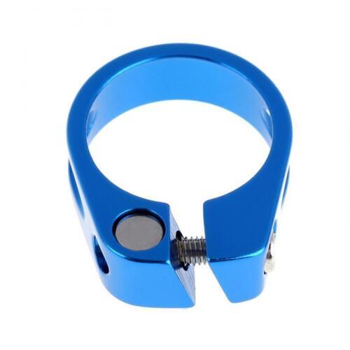 Seat post collar clamp fastener 5 colours bike alu 31.8 mm mtb city