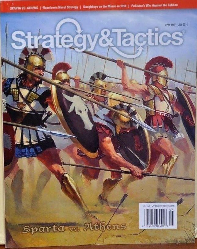 Strategy & Tactics  286 Magazine w  Sparta vs Athens, NEW