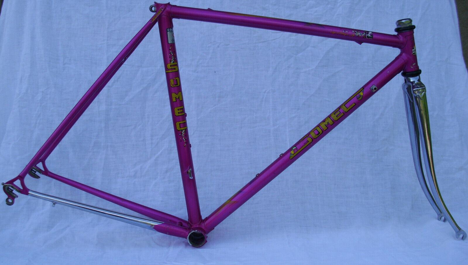 Somec telaio bici corsa acciaio columbus cromor