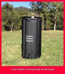 Details about 100 Litre Collapsible Rain barrel water storage Compact  Portable Rain water Tank