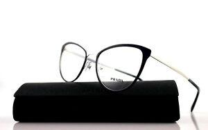 3e6ddfc906e1 Image is loading New-Authentic-PRADA-CINEMA-Blue-Silver-Eyeglasses-Frame-