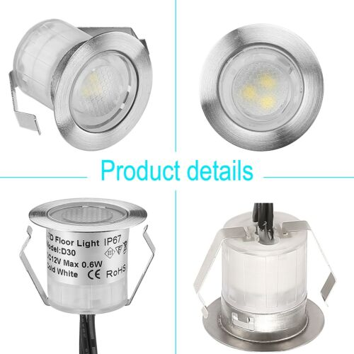 30er WIFI Controller RGB LED Einbaustrahler Leuchte Außen Minispot wasserdicht