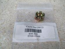 "OEM Harley Davidson 1//2/""-20 x 9//16/"" x 3//4/"" Hex Castle Nut P//N 7734W"