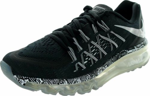 NIKE AIRE MAX 2015 GS YOUTH GIRLS BOYS RUNNING TRAINING BLACK SHOES 705458 003
