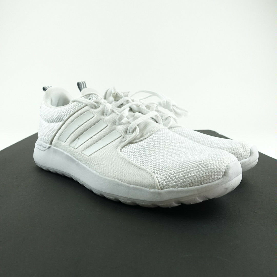 Adidas Men's Running Racer Shoes Cloudfoam Lite Racer Running Sneakers Size 12 White AW4262 c1c2fa