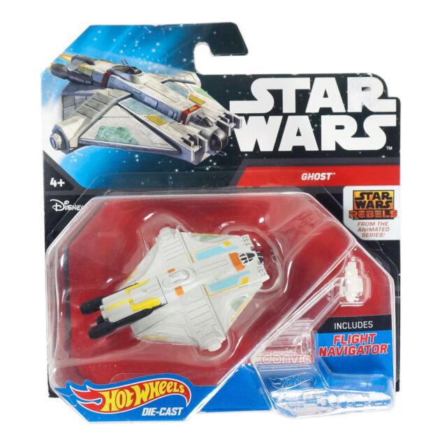Hot Wheels Star Wars Rebels Starship - Ghost Die-Cast