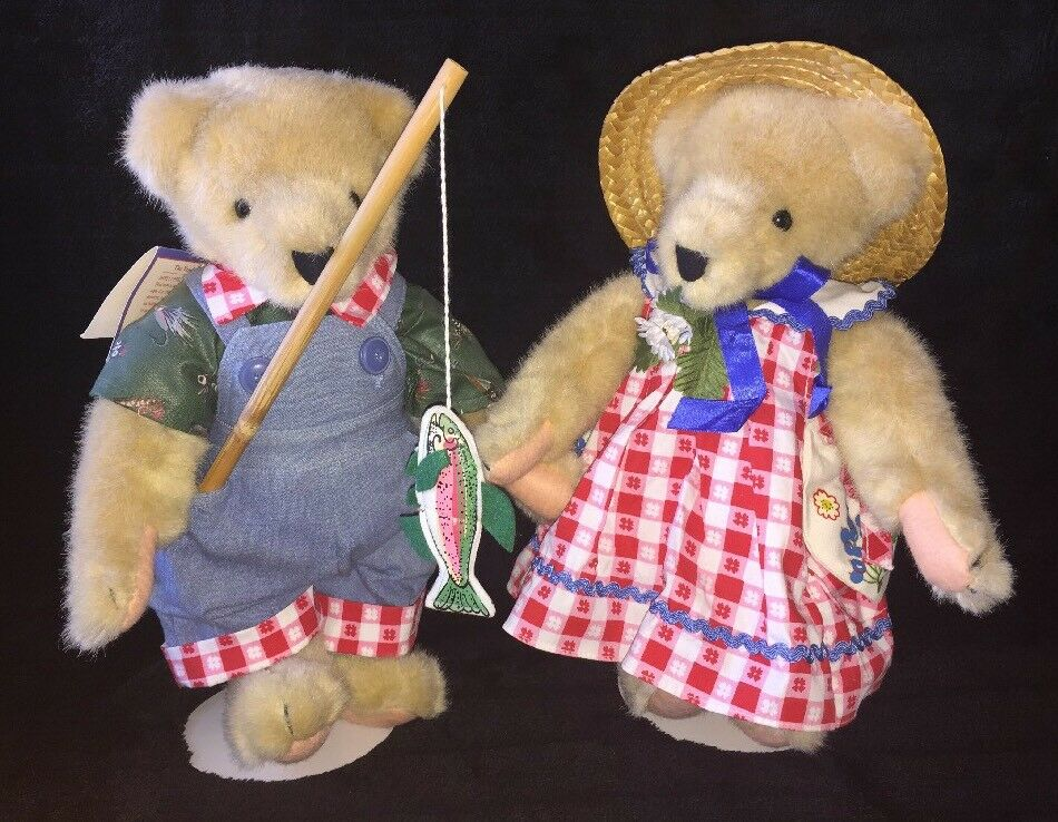 1982 VanderBear Fuzzy and Fluffy, Picnic Pair